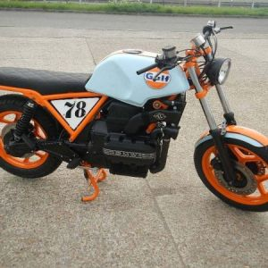 BMW K75 GULF CAFE RACER